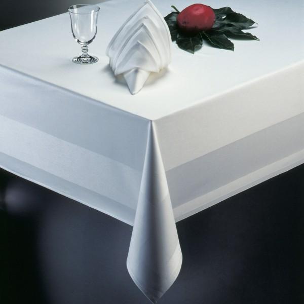 Tischdecke mieten – weiß – rechteckig