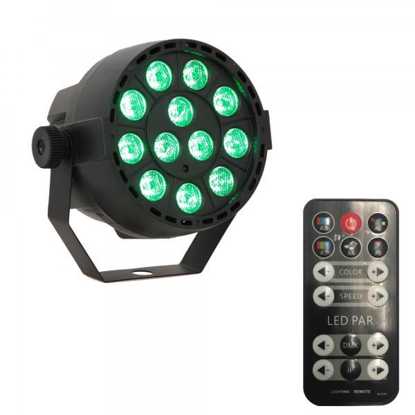 Scheinwerfer mieten - RGB - 36W bis zu 8 Stunden Akkulaufzeit